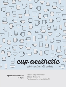 cup aesthetic poster