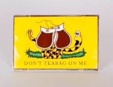 Don't Teabag on Me [MJC 2013 S1-5] - Copper, Nickel Silver, Sterling Silver, Brass, Lead-Bearing Enamel - November 22, 2013 (Picture 1)