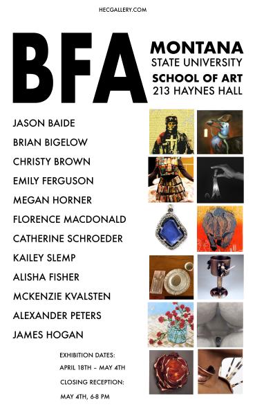 bfa spring 2018 poster
