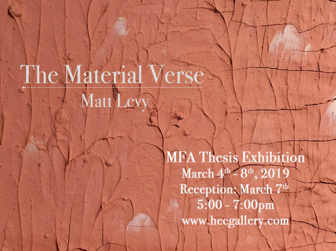 Material Verse Show